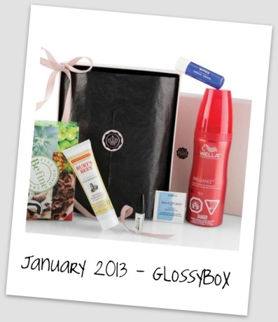 Glossybox Collage