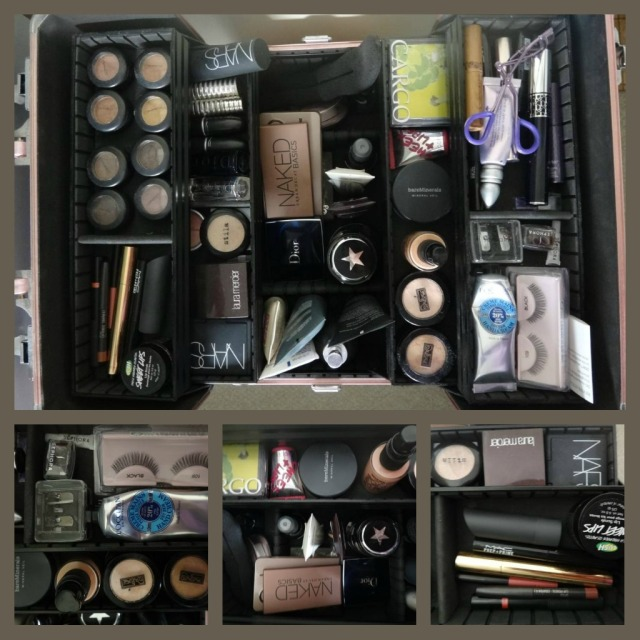 Make Up Kit Collage
