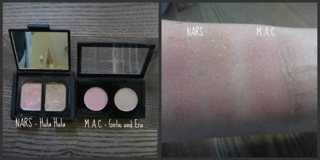 NARS and MAC Eye Shadow