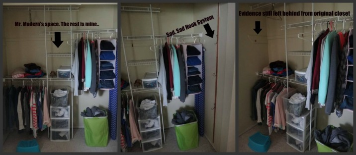 old closet collage