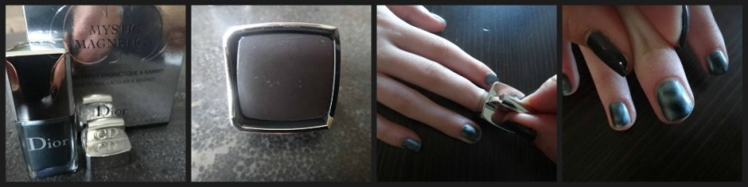 Dior Polish Ribbet collage