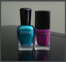 Covergirl and Zoya Polish 1