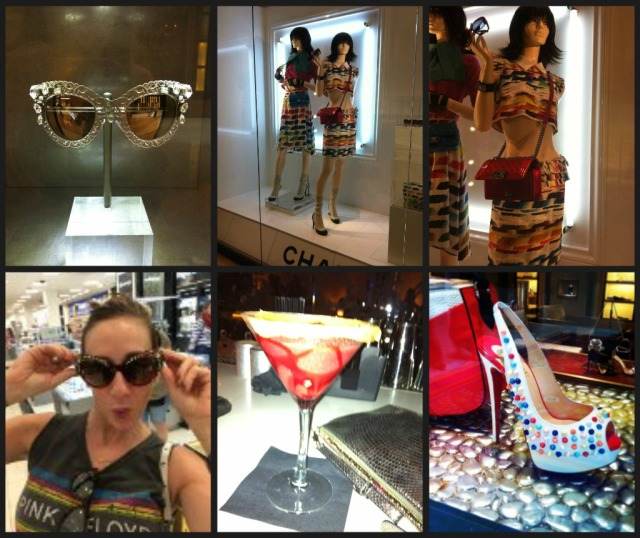 Vegas Shops Collage